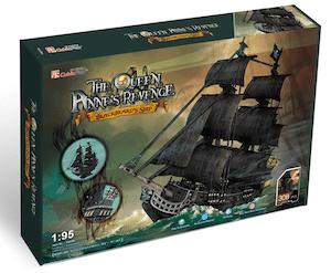 Puzzle 3d bateau pirate par cubicfun
