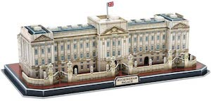 Puzzle 3d buckingham palace de cubicfun