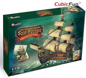 Puzzle 3d san felipe par cubicfun