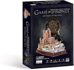 Puzzle 3d du donjon rouge par HBO