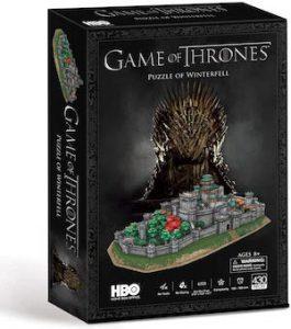 Puzzle 3d du chateau de winterfell par HBO
