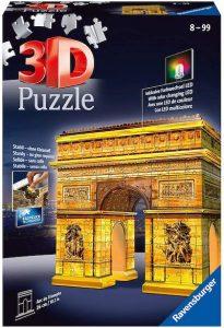 Puzzle 3d lumineux arc de triomphe