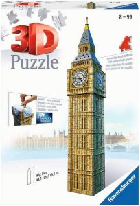 Puzzle 3d big ben de ravensburger