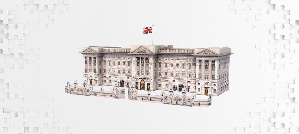 Les meilleurs puzzles 3d buckingham palace