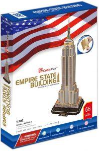 Puzzle 3d empire state building de cubicfun