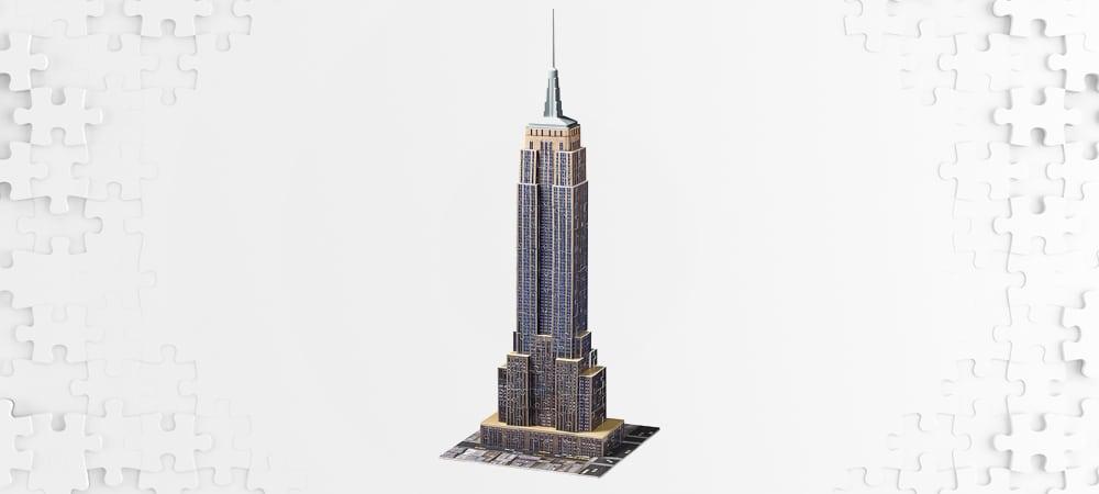 Les meilleurs puzzles 3d empire state building