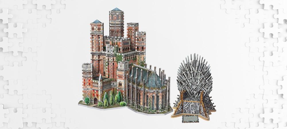Les meilleurs puzzles 3d game of thrones
