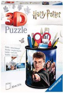 Puzzle 3d pot à crayons harry potter