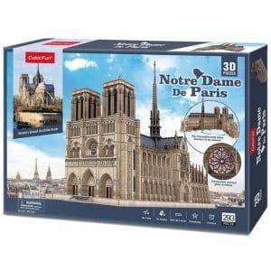 Puzzle 3d notre dame de paris de cubicfun xxl
