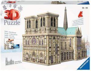 Puzzle 3d notre dame de paris de ravensburger