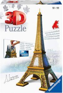 Puzzle 3d tour eiffel de ravensburger