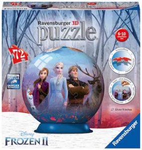 Puzzle 3d Chateau de la reine des neiges de ravensburger