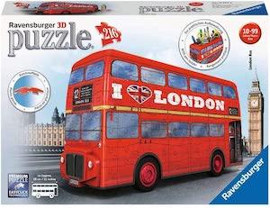 Puzzle 3D pot de crayon bus par ravensburger