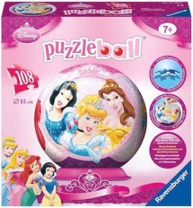 Puzzle 3d princesses disney