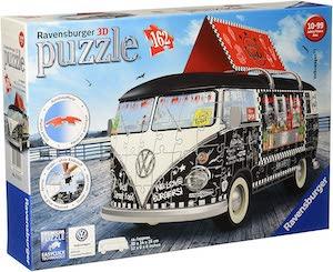 Puzzle 3d combi food truck volkswagen par ravensburger