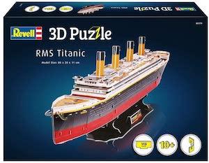 Puzzle 3d titanic par revell