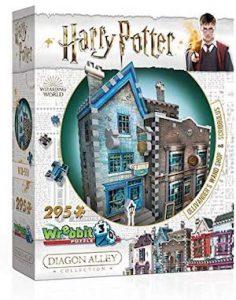 Puzzle 3d de la boutique Ollivanders : fabricant de baguettes magiques
