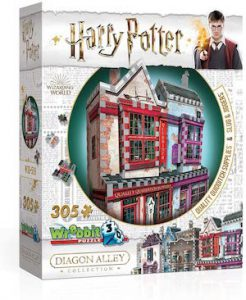 Puzzle 3d des boutiques de quidditch et de potions