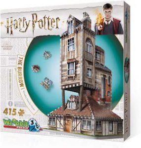 Puzzle 3d du terrier, la maison de la famille Weasley