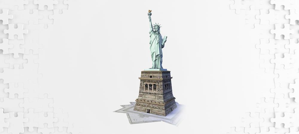 Les meilleurs puzzles 3d statue de la liberté