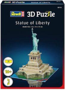 Puzzle 3d petit format statue de la liberté