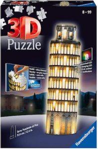 Puzzle 3D lumineux tour de pise